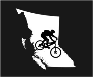British Columbia Big Mt. Biker Decal ***FREE SHIPPING***