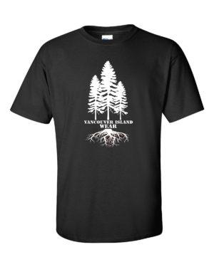 VANCOUVER ISLAND WEAR TREE TRIPLE MEN'S T-SHIRT