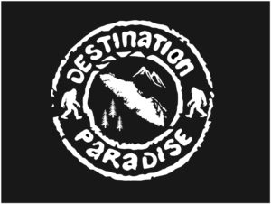 Vancouver Island Sasquatch Paradise decal ***FREE SHIPPING***