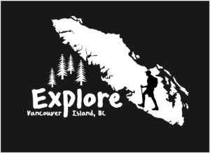 Vancouver Island Hiking Explore decal ***FREE SHIPPING***