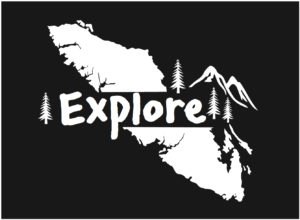 Vancouver Island Cut Explore decal ***FREE SHIPPING***