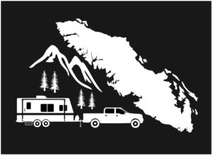 Vancouver Island Explore RV decal ***FREE SHIPPING***
