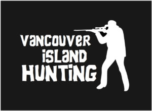 Vancouver Island Hunting decal ***FREE SHIPPING***