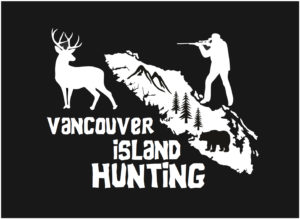 Vancouver Island Hunting Deer decal ***FREE SHIPPING***