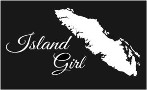 Vancouver Island Girl decal ***FREE SHIPPING***
