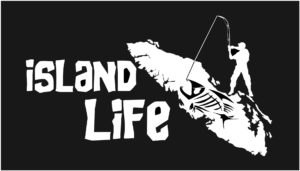 Vancouver Island life decal sticker fishing