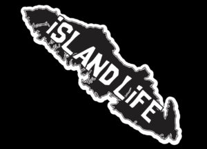 Vancouver Island Life Black print 7.5″ ***FREE SHIPPING***