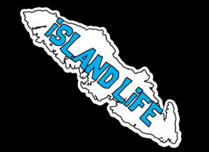 Vancouver Island Life Cyan print 7.5″ ***FREE SHIPPING***