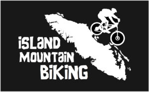 Vancouver Island Mt. Biker Text decal ***FREE SHIPPING***