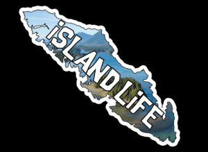 Vancouver Island Life Ocean Islands print 7.5″ ***FREE SHIPPING***