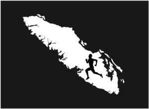 Vancouver Island Running man decal ***FREE SHIPPING***