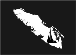 Vancouver Island Sailing decal ***FREE SHIPPING***