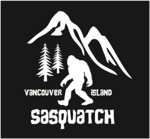 Vancouver Island Sasquatch Hiking decal ***FREE SHIPPING***
