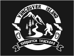 Vancouver Island Sasquatch Tracker decal ***FREE SHIPPING***