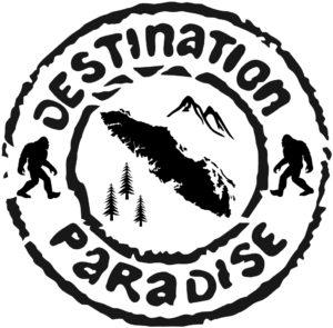 Vancouver Island Sasquatch Paradise Black ***FREE SHIPPING***