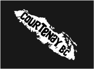 Vancouver Island Courtenay, BC decal ***FREE SHIPPING***