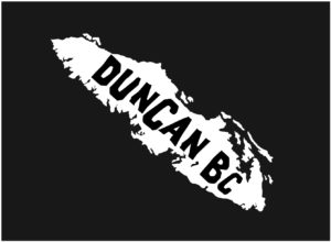 Vancouver Island Duncan, BC decal ***FREE SHIPPING***