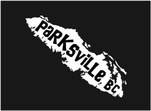 Vancouver Island Parksville, BC decal ***FREE SHIPPING***