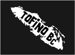 Vancouver Island Tofino, BC decal ***FREE SHIPPING***