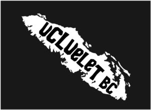 Vancouver Island Ucluelet, BC decal ***FREE SHIPPING***