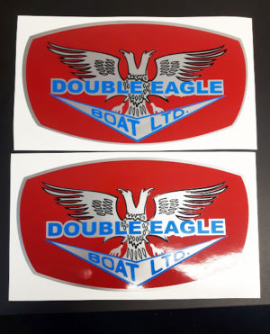 Double Eagle replacement decals ***FREE SHIPPING***