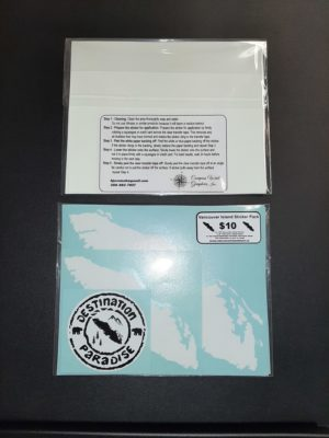 Vancouver Island 4 Pack Stocking Card ***FREE SHIPPING***