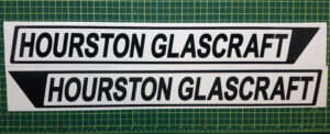 Hourston Glascraft Replacement decals