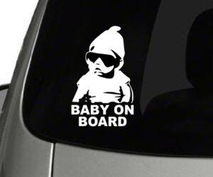 Baby On Board Carlos decal