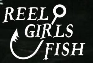 Reel Girls Fish Decal